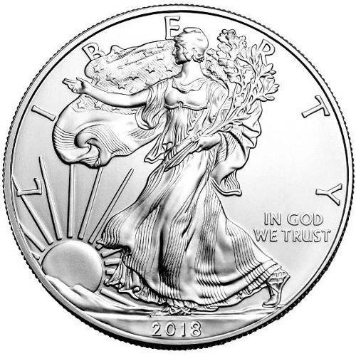 2018 1oz Silver Eagle